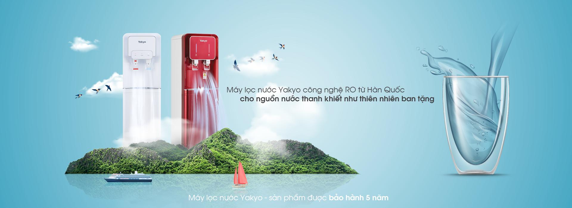 máy lọc nước yakyo