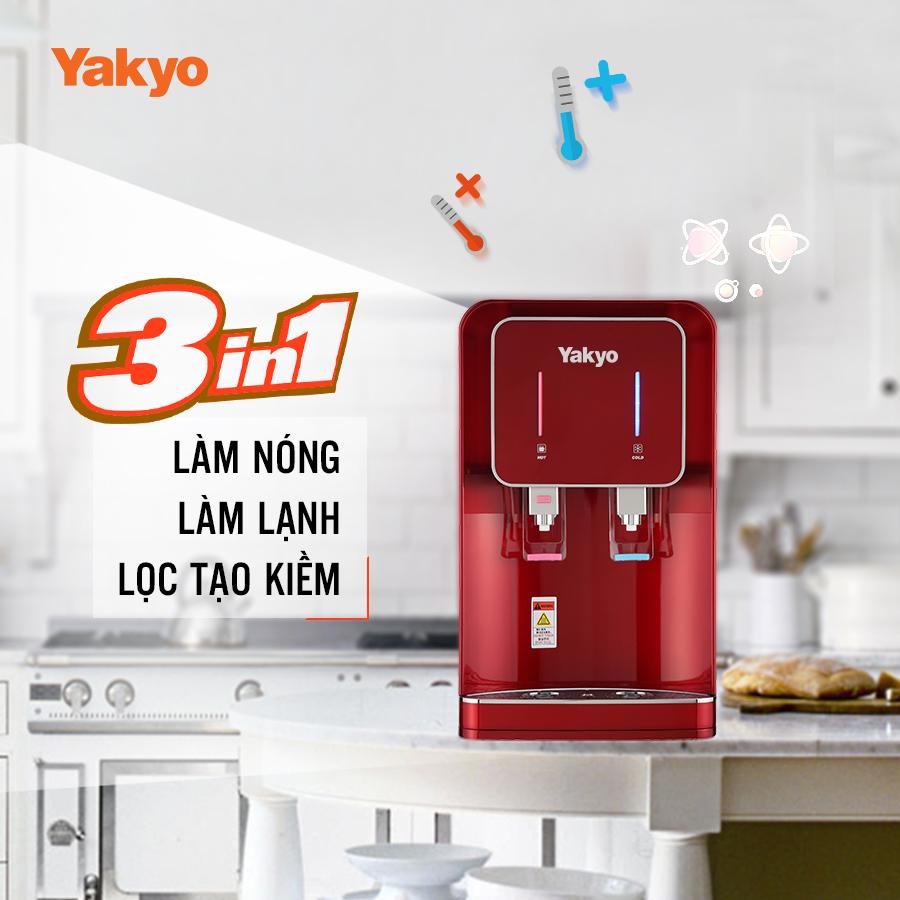 máy lọc nước nóng lạnh yakyo